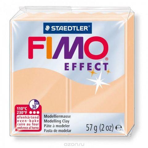 """Глина полимерная Fimo """"Effect"""", запекаемая, цвет: персиковый, 57 г"""