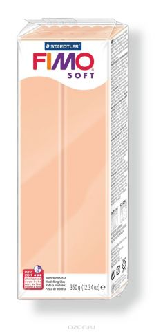 """Глина полимерная Fimo """"Soft"""", цвет: телесный, 350 г"""