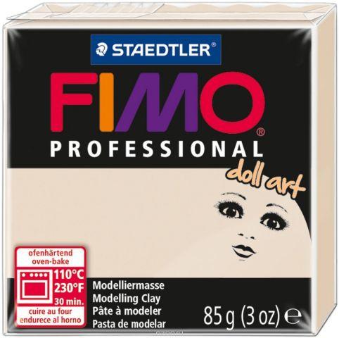 """Глина полимерная Fimo """"Professional Doll Art"""", цвет: полупрозрачный бежевый, 85 г"""