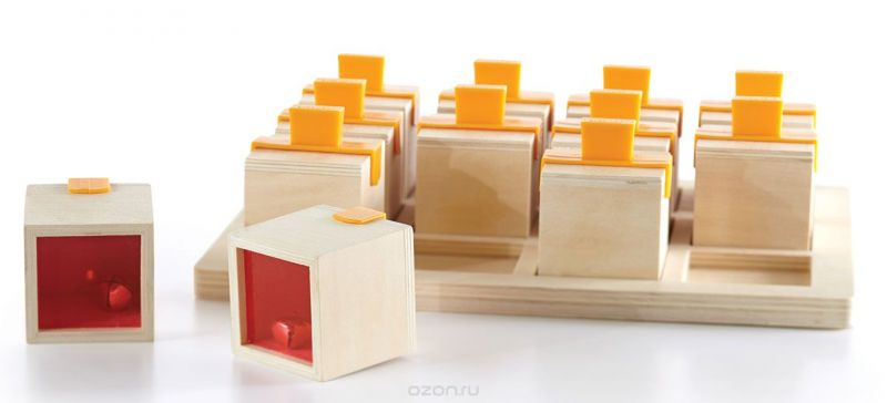 GuideCraft Сортер Peekaboo Sound Boxes