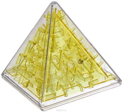 Sima-land Головоломка Лабиринт Пирамида цвет желтый