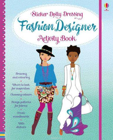 Sticker Dolly Fashion Designer Activity Book