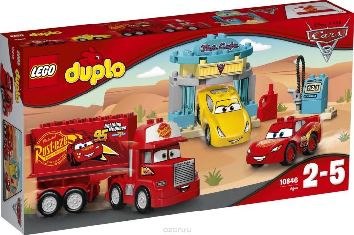LEGO DUPLO Cars Конструктор Кафе Фло 10846