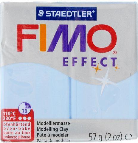 """Глина полимерная Fimo """"Effect"""", цвет: вода, 57 г"""