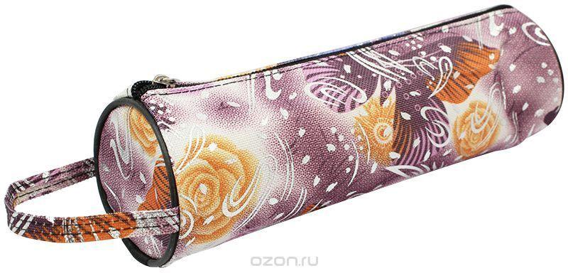 ArtSpace Пенал-тубус Бабочка цвет розовый