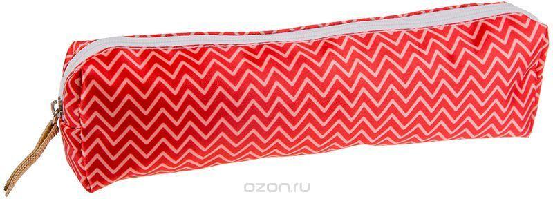 ArtSpace Пенал-косметичка Рельеф цвет красный