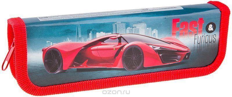 ArtSpace Пенал Авто Supercar цвет красный ПК1_10600