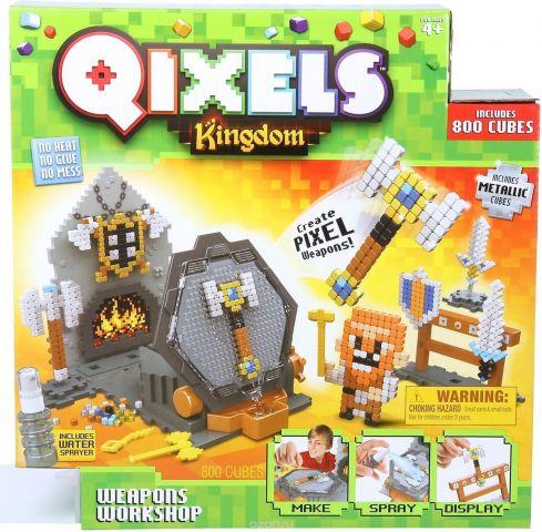 Qixels Мозаика Королевство Оружейная мастерская