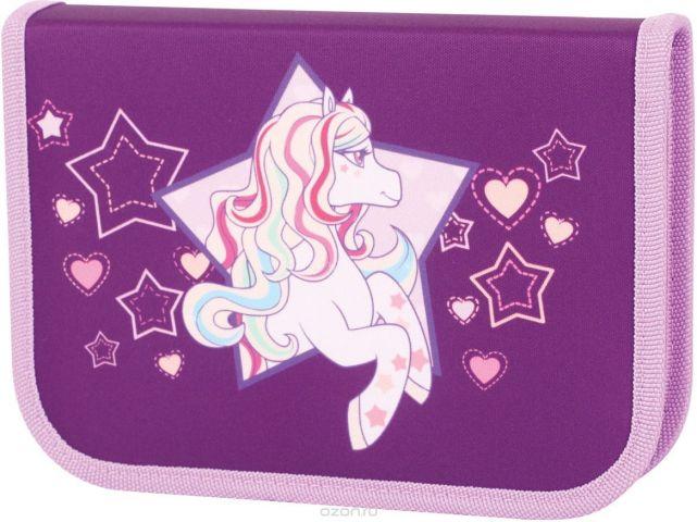 Tiger Enterprise Пенал Rainbow Pony