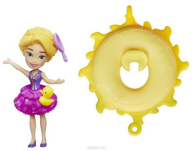 Disney Princess Игровой набор с куклой Рапунцель плавающая на круге