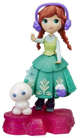 Disney Frozen Игровой набор с куклой Принцесса Анна на движущейся платформе-снежинке