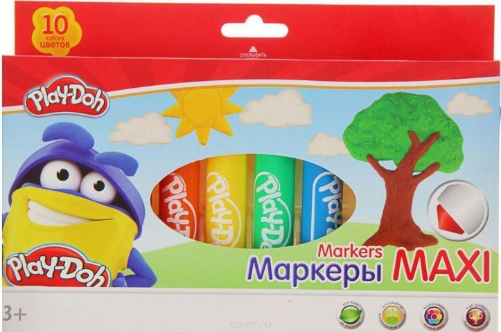 Play-Doh Набор фломастеров Jumbo 10 шт