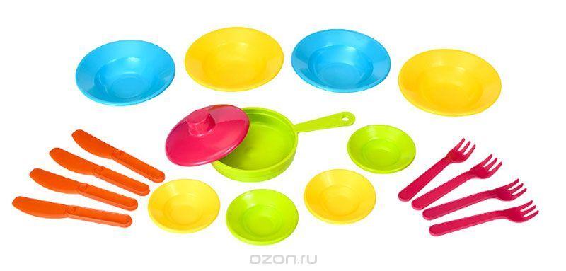 РосИгрушка Набор игрушечной посуды Первый блин