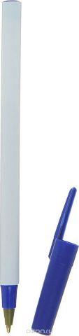 Calligrata Ручка шариковая цвет корпуса белый синий синяя