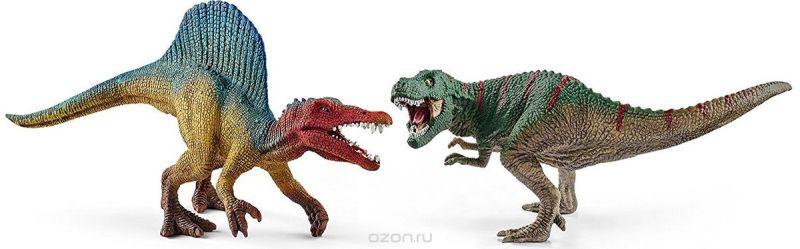 Schleich Набор фигурок Тираннозавр и Спинозавр