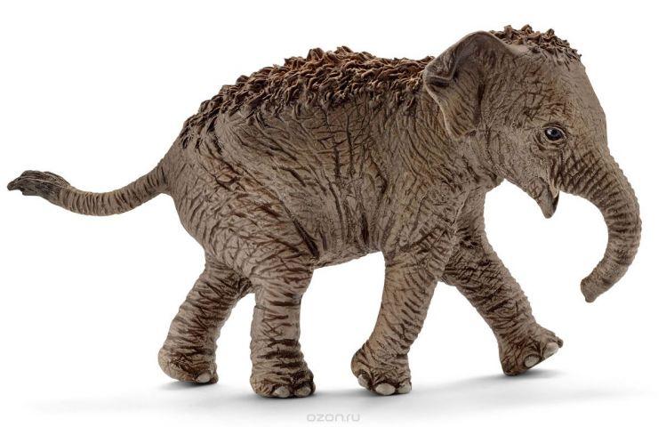 Schleich Фигурка Азиатский слон детеныш 14755