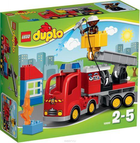LEGO DUPLO Конструктор Пожарный грузовик 10592