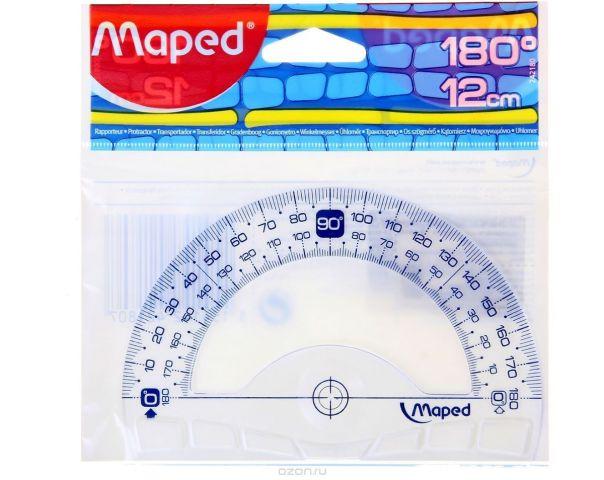 Maped Транспортир Geometric 12 см