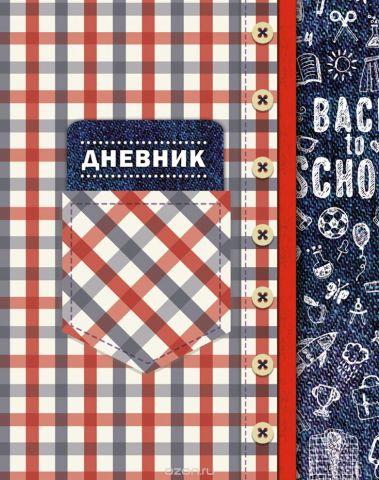 Апплика Дневник школьный для младших классов Шотландка