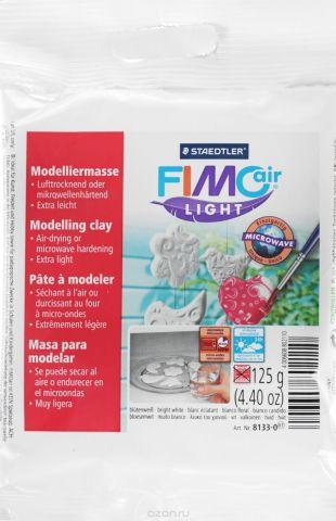 """Глина полимерная Fimo """"Аir"""", самоотвердевающая, цвет: белый, 125 г"""