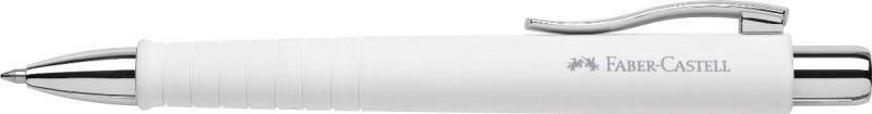 Faber-Castell Ручка шариковая Poly Ball XB цвет корпуса белый