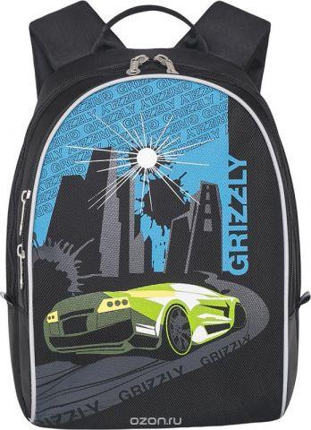 Grizzly Рюкзак дошкольный цвет светло-зеленый RS-734-1/2