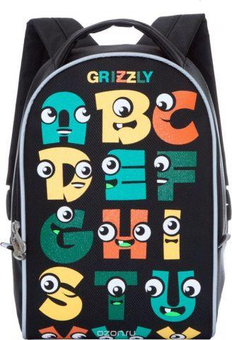 Grizzly Рюкзак дошкольный цвет черный RS-734-5/2
