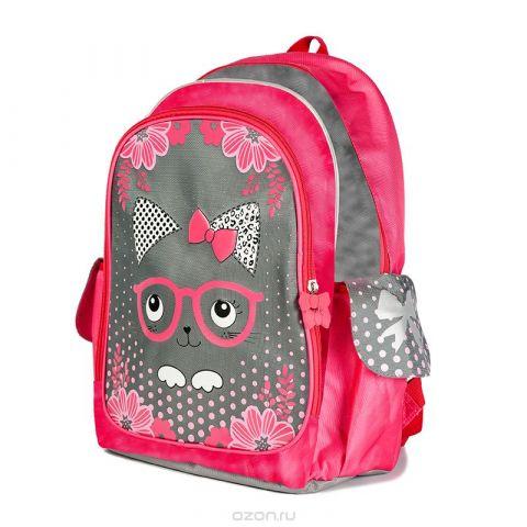 Maxi Toys Рюкзак для девочки Котенок в Очках цвет розовый MT-112016-2