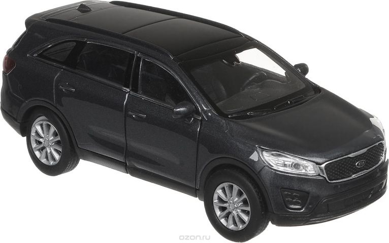 Welly Модель автомобиля Kia Sorento цвет серый