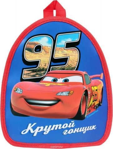 Disney Рюкзак дошкольный Тачки Крутой гонщик