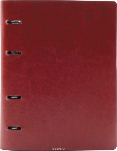 Index Тетрадь 160 листов в клетку цвет красный формат A5