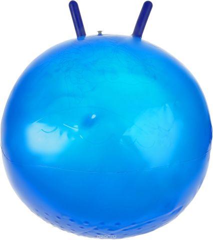 Stantoma Игрушка-попрыгун Мяч с рогами цвет синий 55 см