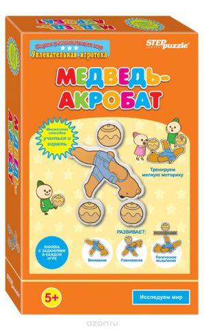 Step Puzzle Обучающая игра Медведь-акробат