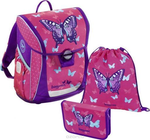 Hama Ранец школьный BaggyMax Fabby Sweet Butterfly с наполнением 2 предмета
