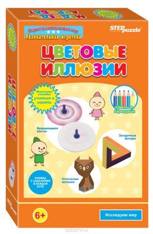 Step Puzzle Развивающая игра Цветовые иллюзии