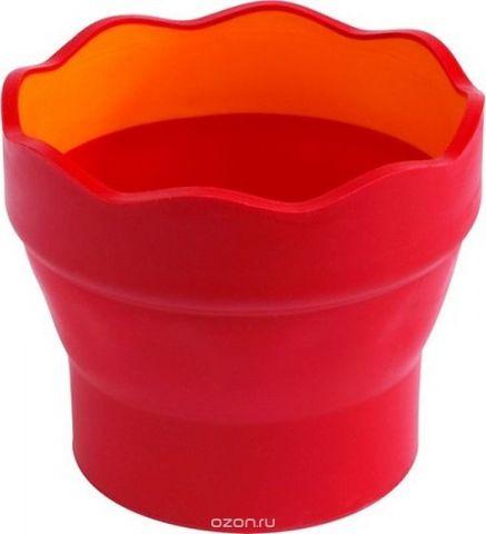Faber-Castell Стакан для воды Clic & Go складной цвет красный