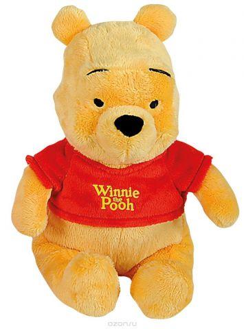 Nicotoy Мягкая игрушка Медвежонок Винни 25 см