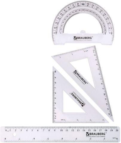 Brauberg Геометрический набор 4 предмета