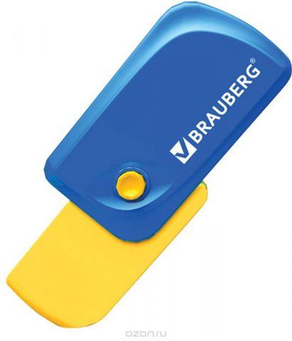 Brauberg Ластик Delta цвет синий желтый