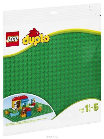 LEGO DUPLO Строительная пластина 38х38 цвет зеленый