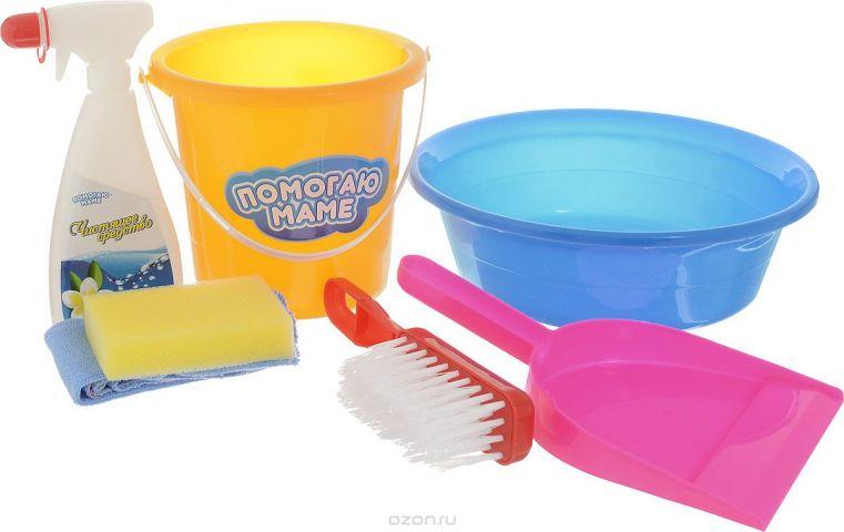 ABtoys Игровой набор для уборки 7 предметов