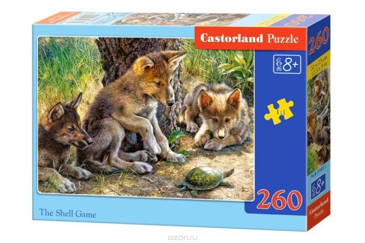 Castorland Пазл Волчата с черепахой