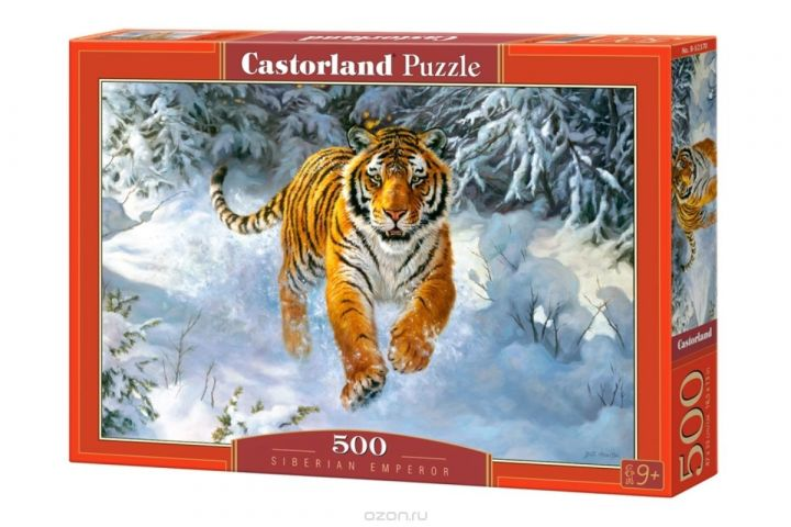 Castorland Пазл Амурский тигр