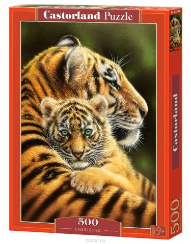 Castorland Пазл Тигры
