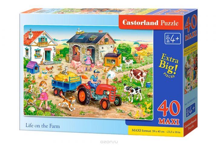 Castorland Пазл для малышей Жизнь на ферме
