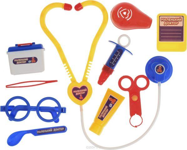 ABtoys Игровой набор Маленький доктор 10 предметов