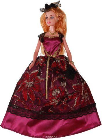 Yako Кукла Софи цвет платья бордовый
