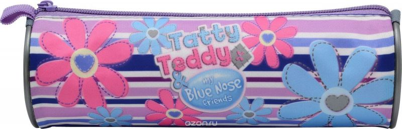 Action! Пенал-тубус Tatty Teddy цвет розовый голубой