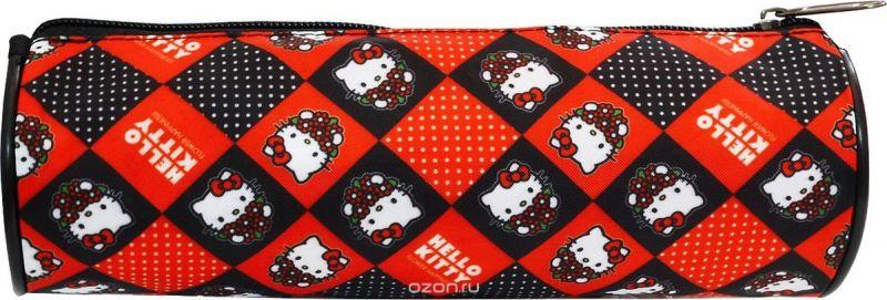 Action! Пенал-тубус Hello Kitty цвет красный