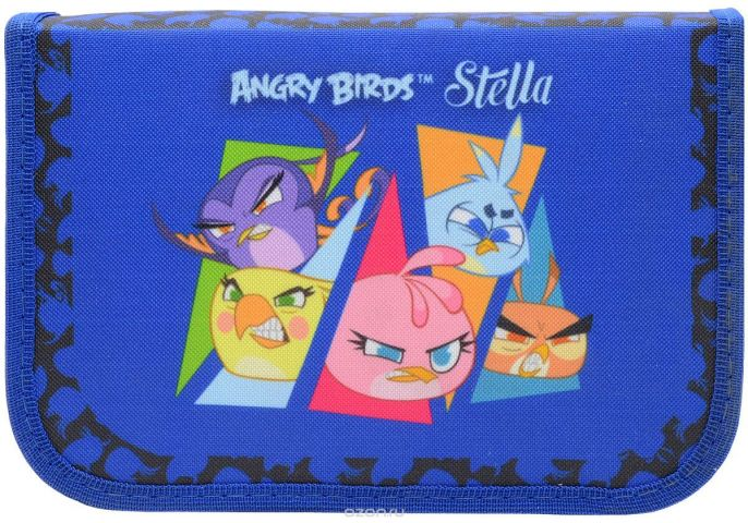 Action! Пенал Stella by Angry Birds цвет синий